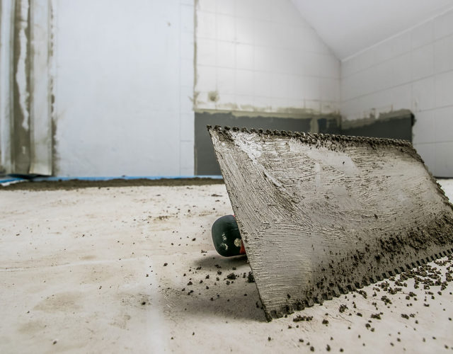 Badrenovierung Oldenburg Fliesenverlegung Bad Grossformatfliesen 21